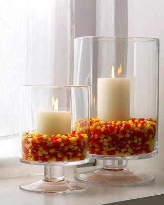 Woman's Day Halloween Hurricane Lamps