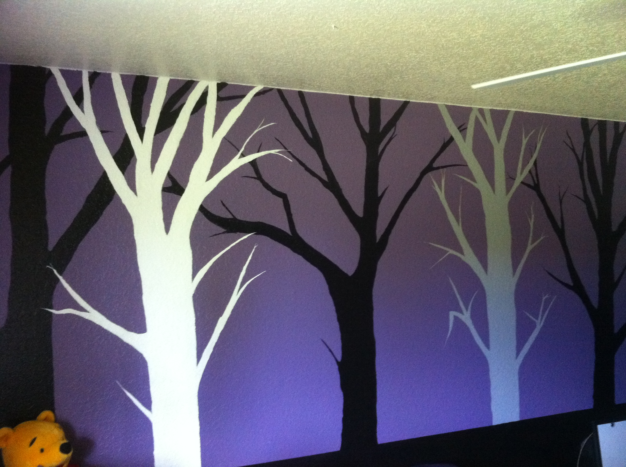 Painted Trees by my husband