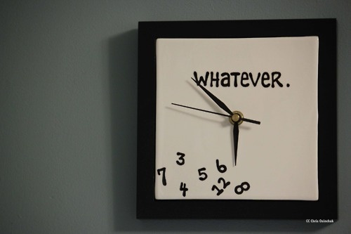 Whatever Clock - gift ideas for an 18 year old