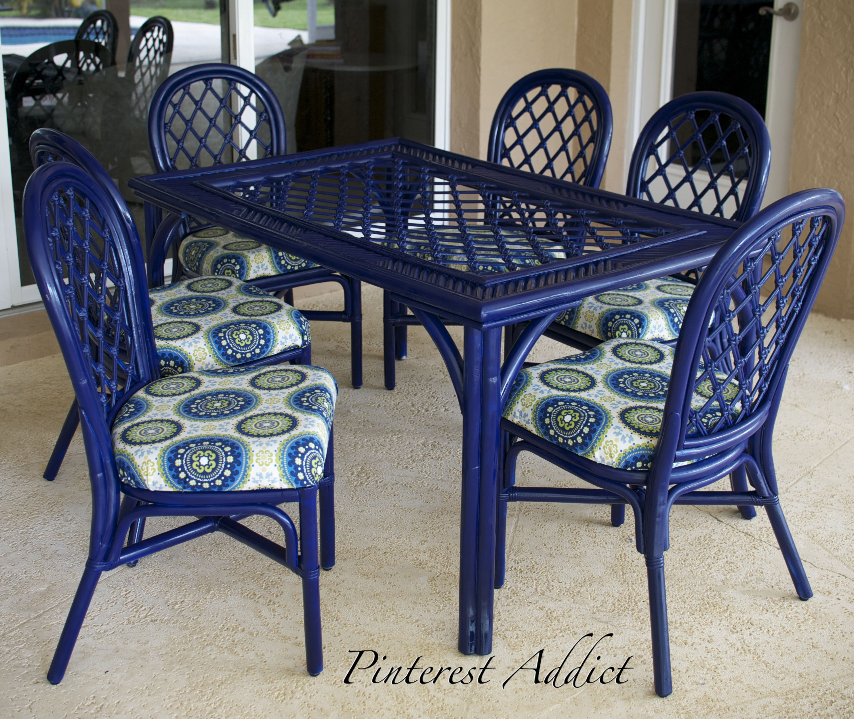 Patio Furniture Re do Pinterest Addict
