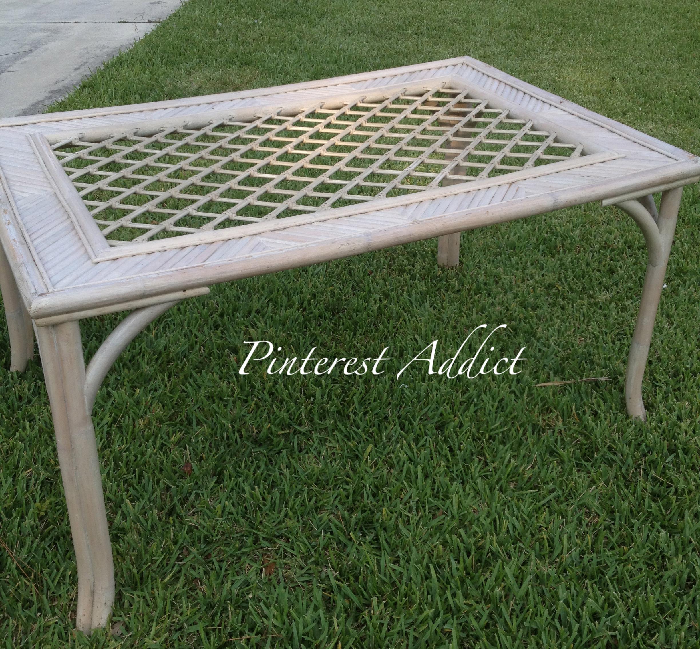 Patio Furniture Re do Pinterest Addict