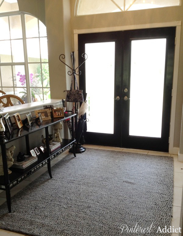 Painting Floor tile - Front Entrance