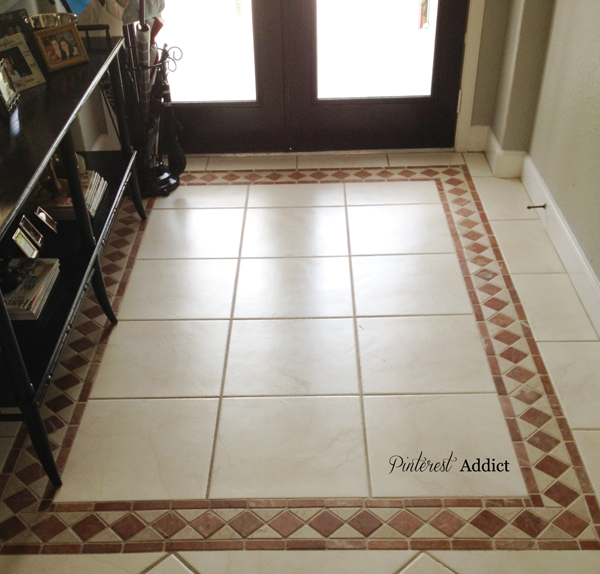 Painting Floor tile -