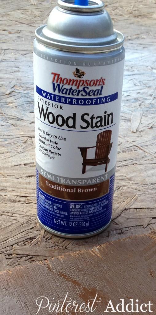 Thompson 39 S Waterseal Spray Wood Stain Pinterest Addict