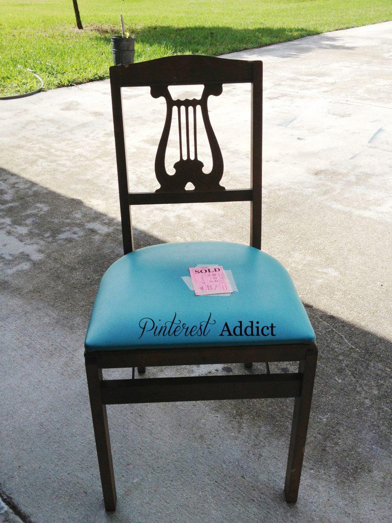 Harp Back Folding chair
