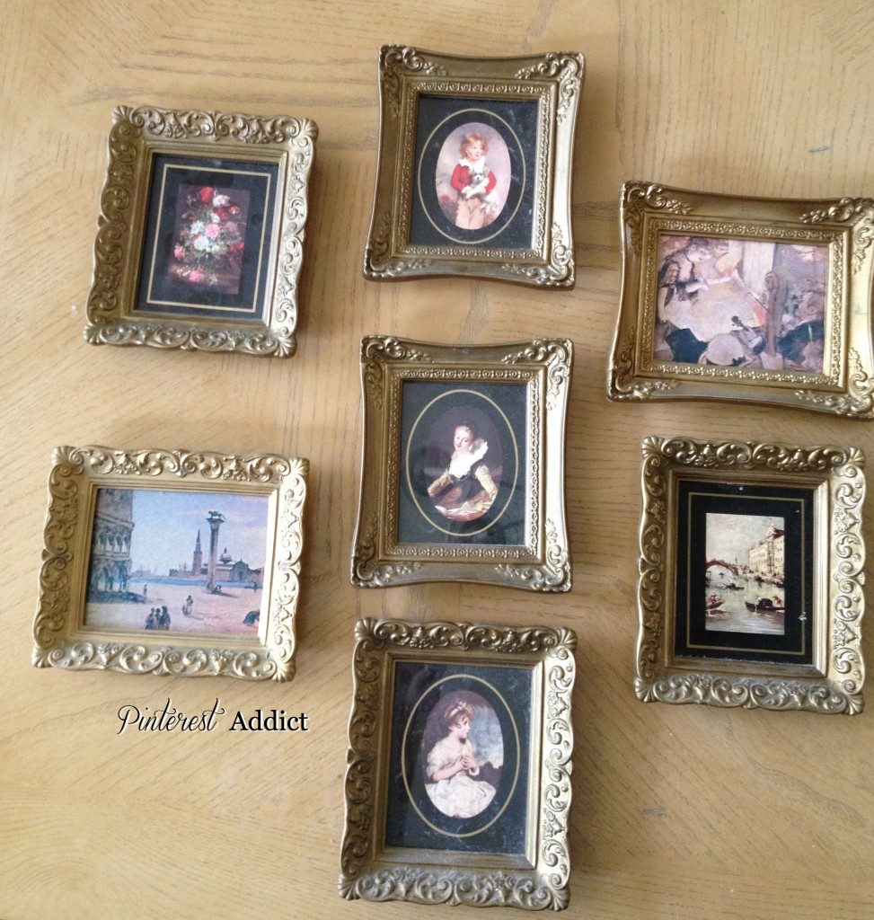 Pinterest Addict, mini frames