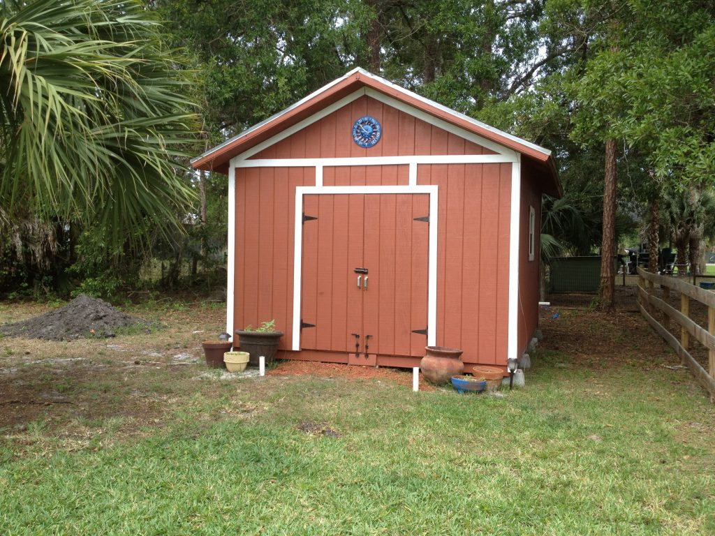 The original Red Shed