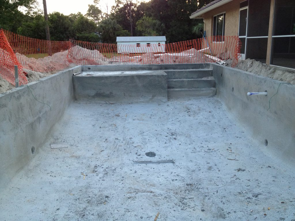 Pool progress 1