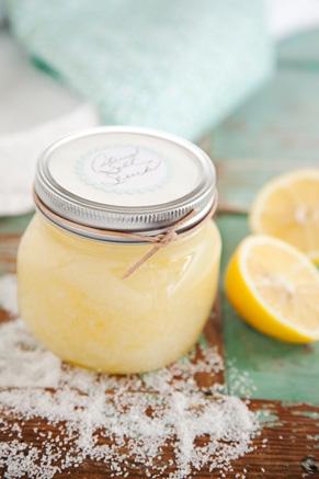 Paula Deen's Citrus Salt Body Scrub