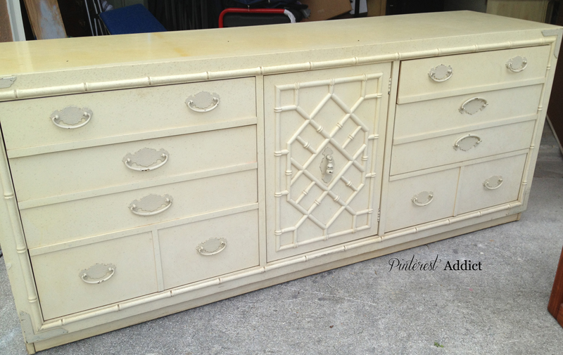 Thomasville Faux Bamboo Buffet/Console/Dresser