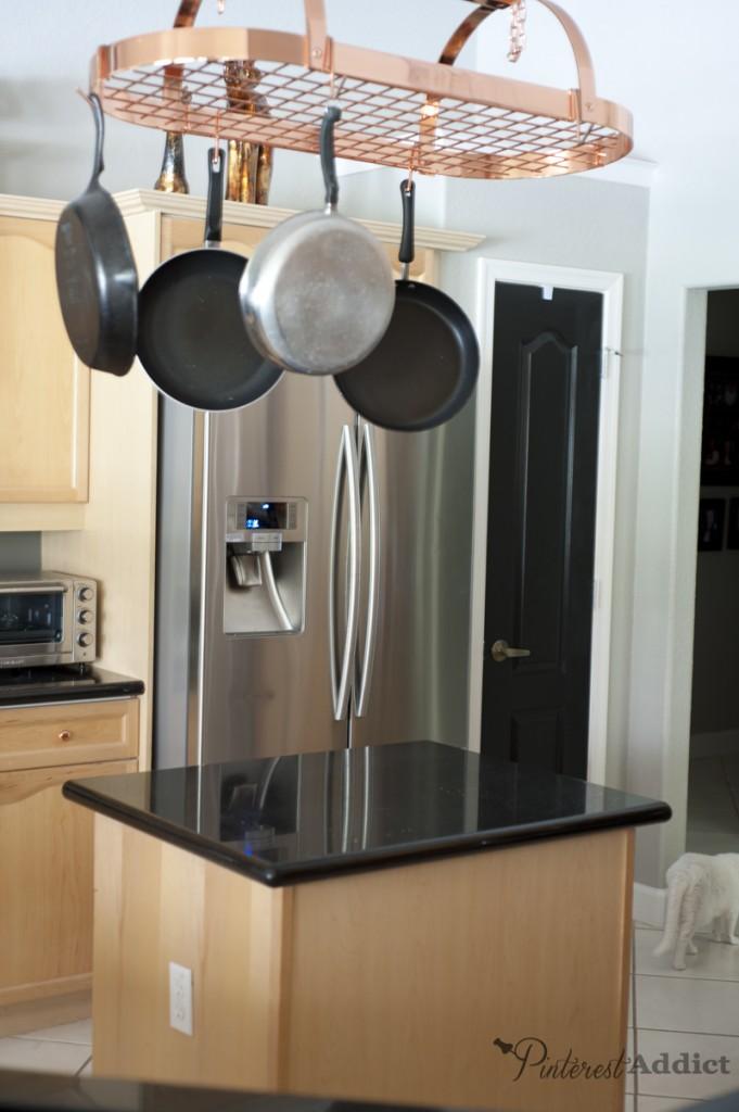 kitchen pantry door black